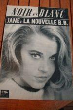 1964 Vintage Magazine Jane Fonda Brigiite Bardot