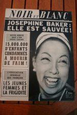 1966 Vintage Magazine Josephine Baker