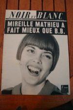 1966 Vintage Magazine Mireille Mathieu