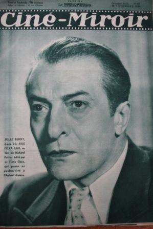 1936 Jules Berry Danielle Darrieux Robert Montgomery