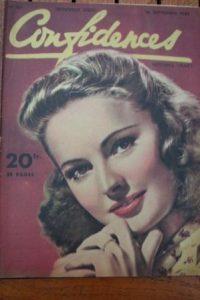 1951 Vintage Magazine Yvonne De Carlo