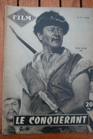 1956 John Wayne Susan Hayward The Conqueror