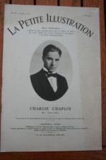 1927 Charles Chaplin Original Vintage Magazine