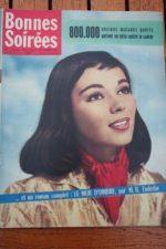 1958 Vintage Magazine Jean Gabin