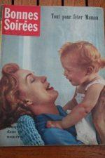 1958 Vintage Magazine Marcel Amont