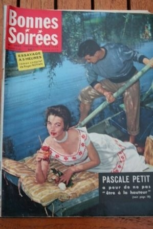1959 Vintage Magazine Pascale Petit