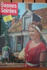1959 Vintage Magazine Pierre Vaneck