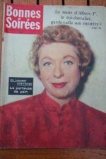 1959 Vintage Magazine Patachou