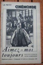 1935 Grace Moore Leo Carrillo Robert Allen