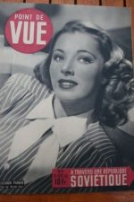 1946 Vintage Magazine Eleanor Parker