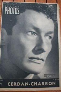 1946 Jean Louis Barrault Marcel Cerdan Robert Charron