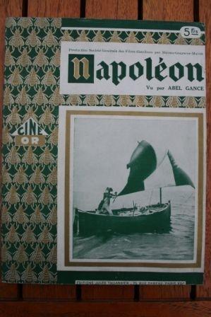 1935 Vintage Book Napoleon Bonaparte Abel Gance