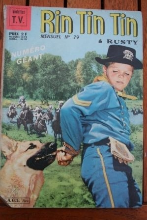 1966 Comic Rintintin Issue: 79 Release Date: 09/1966