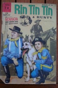 1966 Comic Rintintin Issue: 78 Release Date: 08/1966