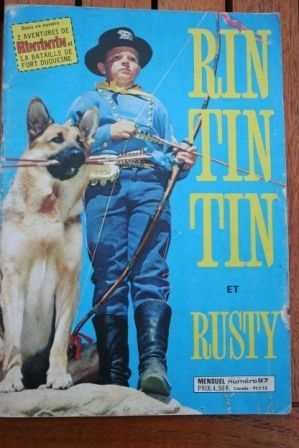 1978 Comic Rintintin Issue: 97 Release Date: 02/1978