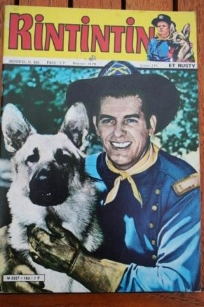 1983 Comic Rintintin Issue: 163 Release Date: 09/1983