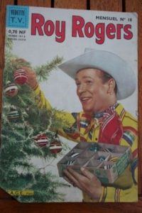 1962 Comic Roy Rogers Issue: 18 Release Date: 12/1962