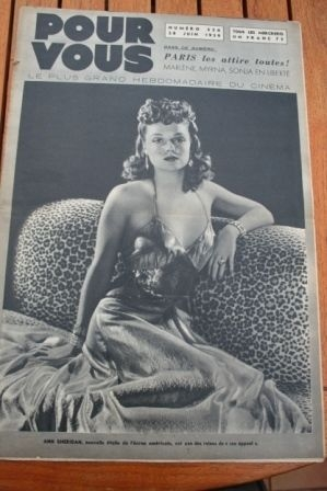 1939 Ann Sheridan The Hound of the Baskervilles
