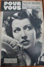 1939 Danielle Darrieux Cary Grant Jean Arthur