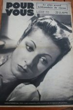 1939 Danielle Darrieux Tyrone Power Fernandel