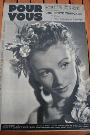 1939 Janine Darcey Elvire Popesco Jeanne Helbling