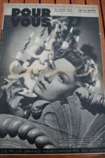 1939 Edwige Feuillere Luise Rainer Robert Taylor