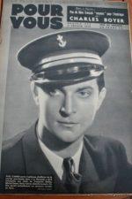 1939 Paul Cambo Charles Boyer Luise Rainer Raimu