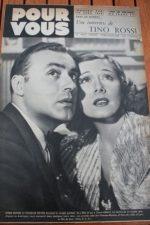 1939 Irene Dunne Charles Boyer Hedy Lamarr Tino Rossi