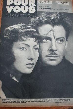 1939 Corinne Luchaire Shirley Temple Jean Renoir
