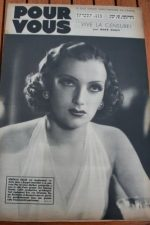 1939 Mireille Balin Shirley Temple Basil Rathbone