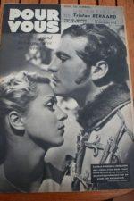 1938 Danielle Darrieux Charlie McCarthy Jean Gabin