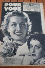 1938 Viviane Romance Louis Jouvet