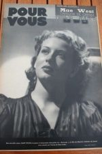 1938 Gaby Sylvia Kate De Naguy Fernandel