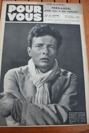 1938 Jean Louis Barrault Kay Francis Dorothy Lamour