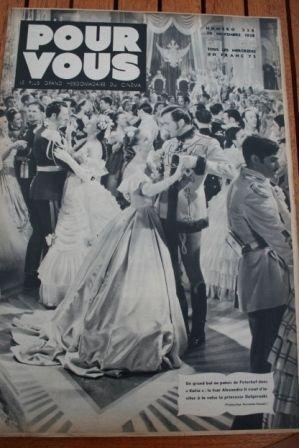 1938 Danielle Darrieux Conrad Veidt Errol Flynn