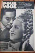 1938 Tyrone Power Norma Shearer Douglas Fairbanks Jr.