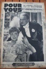 1938 Yvonne Printemps Mireille Balin Loretta Young