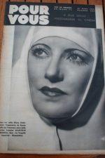 1938 Cary Grant Alice Faye Claudette Colbert Paul Cambo