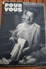 1938 Raimu Tyrone Power Alice Faye James Stewart