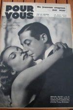 1938 Carole Lombard Claudette Colbert Conrad Veidt