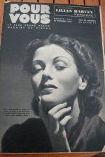 1938 Dolly Mollinger Lilian Harvey Elvire Popesco