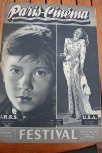 1946 Rita Hayworth Joan Bennett Festival Of Cannes