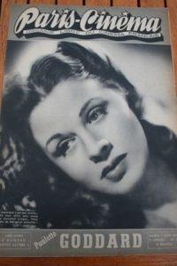 1946 Margaret Johnston Pinocchio Paulette Goddard