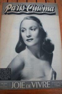 1946 Vintage Magazine Maria Mauban Rene Clair