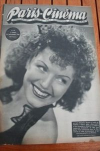 1946 Claudine Dupuis Max Dave Fleischer Fantomas