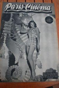 1946 Vintage Magazine Esther Williams