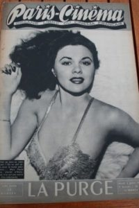 1946 Vintage Magazine Paula Drew Stewart Granger
