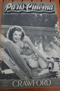 1946 Vintage Magazine Ann Sheridan