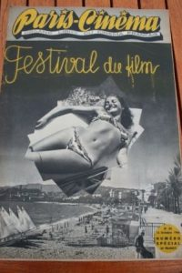 1946 Vintage Magazine Festival Of Cannes 1946