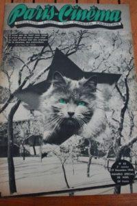 1946 Christmas Cat Al Jolson The Jazz Singer